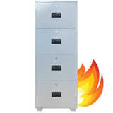 4 Draw Fire Resistant Filing Cabinets