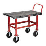 Rubbermaid Work Height Platform Truck
