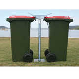 Security Wheelie Bin Stands