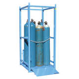 Heavy Duty Dual Sided Gas Cylinder Cages