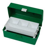 Green/White First Aid Boxes