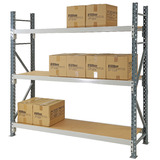 Heavy Duty Longspan Shelving (with Timber Shelves)