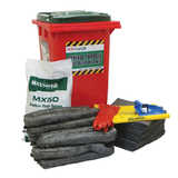 Universal, Chemical, Oil & Fuel Spill Kits
