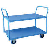 2 Tier Steel Trolley - X Large 600x1100mm