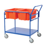 Double Tub Order Picking Trolley
