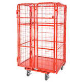 Heavy Duty Cage Trolley (with padlockable doors)