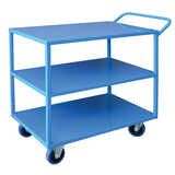 3 Tier Steel Trolley 600x900mm