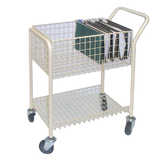 Mail File Trolley