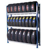 Heavy Duty Industrial Tyre Shelving
