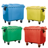 Large Plastic Wheelie Bins