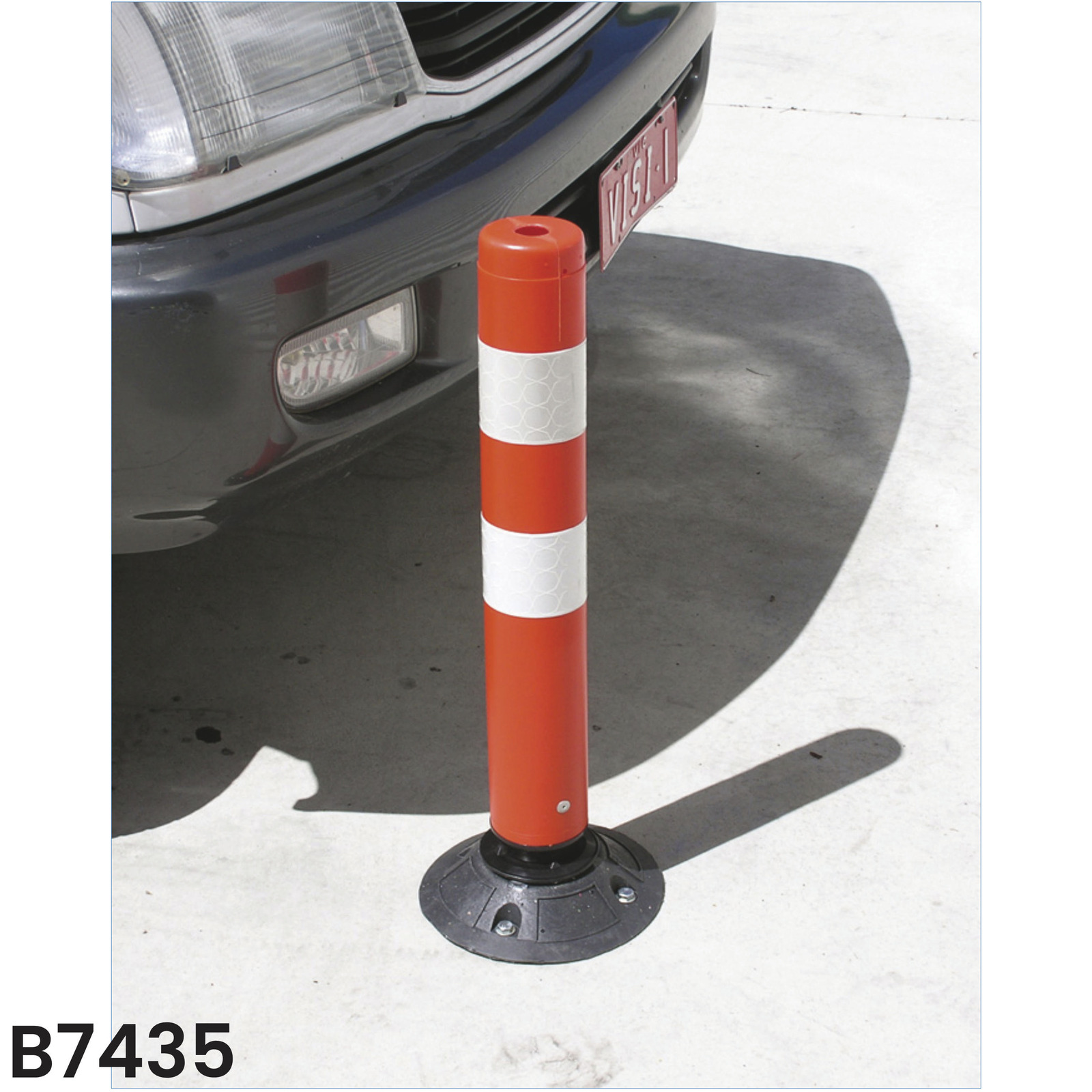 Two Piece Knock Down Bollard