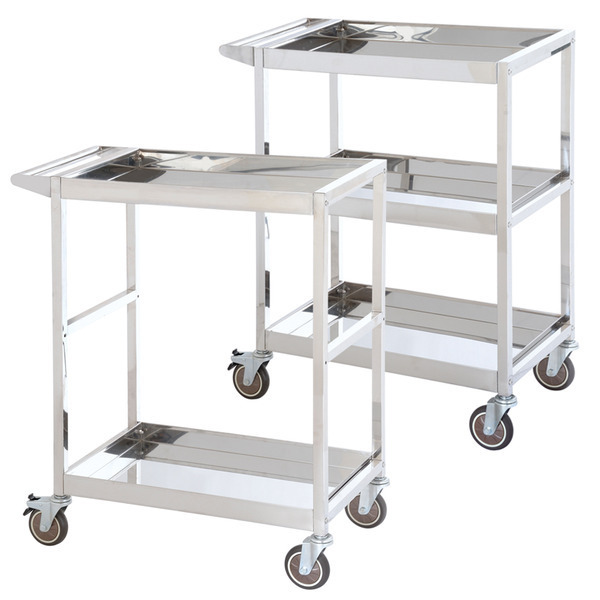 Stainless Steel 2 & 3 Tier Trolleys