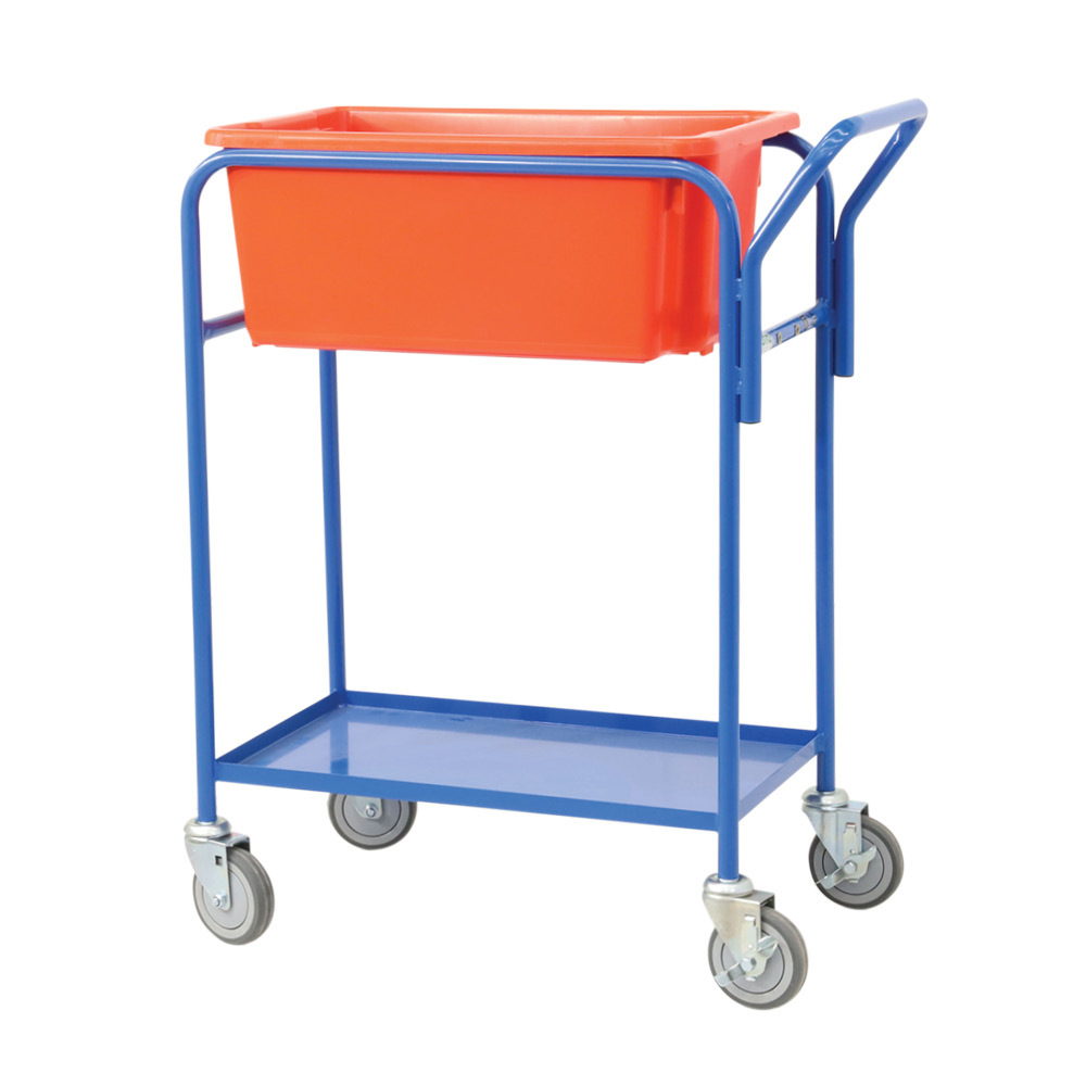 Fully Welded Order Picking Tub Trolley