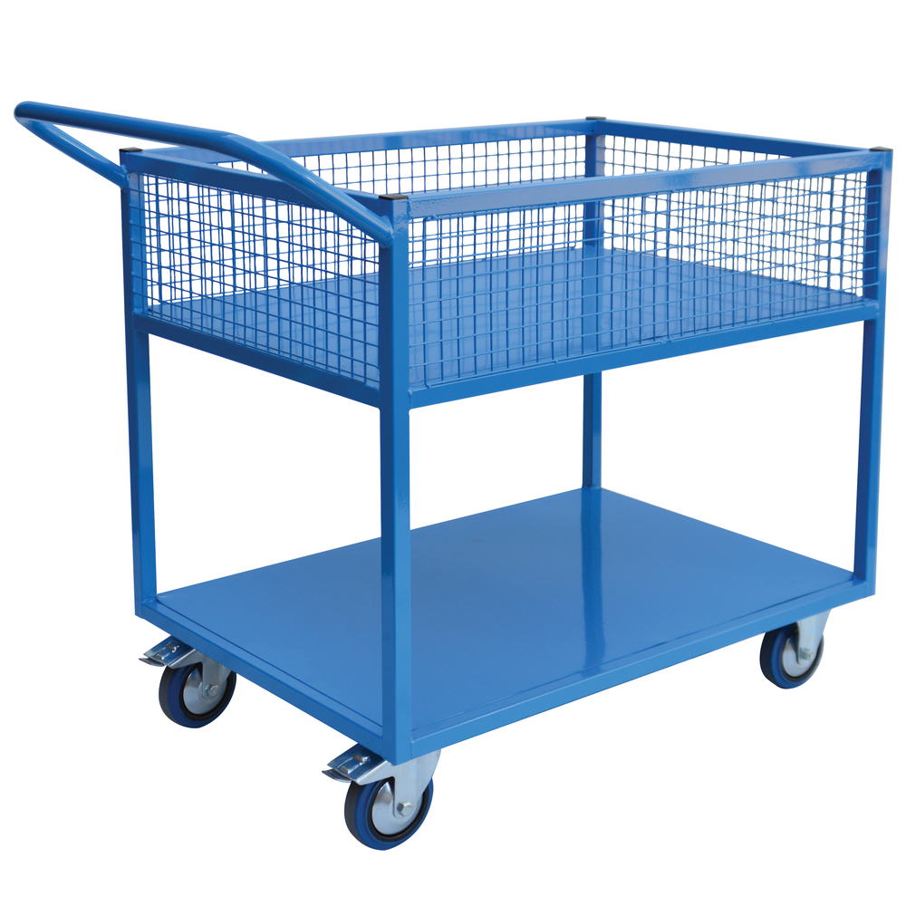 Fully Welded 2 Tier Trolley