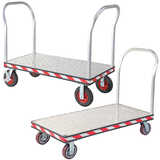 Heavy Duty Aluminium Platform Trolleys
