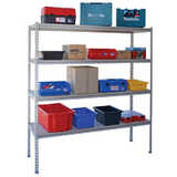 Boltless Steel Shelving (with 4 adjustable shelves)