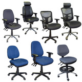 Premium Office Gas Lift Chairs