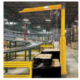 Freestanding Jib Crane (Straight Arm)