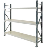Heavy Duty Longspan Shelving (with Steel Shelves)