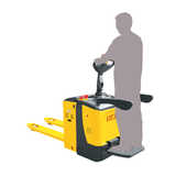 Stand-On Electric Pallet Truck