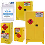 Flammable Liquids Sanitiser Storage Cabinets