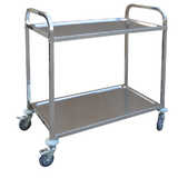 Stainless Steel Tier Trolley (Bolt Together)