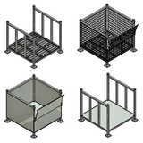 Steel Stillage Cages