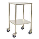 Stainless Steel Instrument Trolleys - No rails