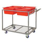 Fully Welded Picking 4 Tub Trolley