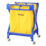 Plastic X Shape Laundry Cart