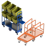 Custom Made and Specifically Designed Trolleys